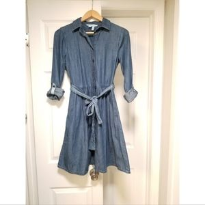 Draper James chambray dress, size 2